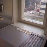 Ikkuna keittokomerossa