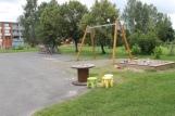 Sisäpihan leikkipaikka