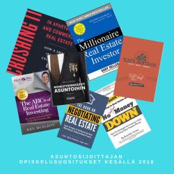 Asuntosijoittajan opiskelusuositukset kesällä 2018