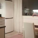 Ruokapöydälle hyvin tilaa