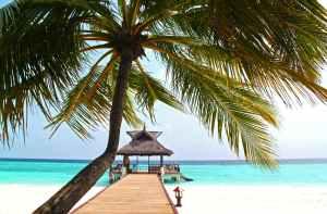 beach beautiful blue clear water